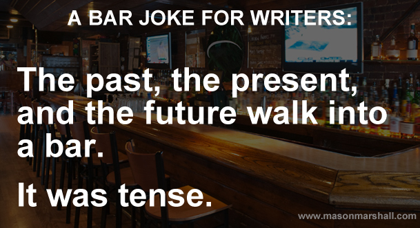 A bar joke for writers