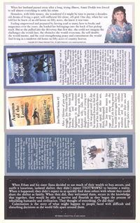 Five Bookmarks - Rear