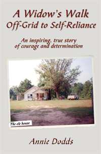 Cover of A Widow's Walk Off-Grid to Self-Reliance
